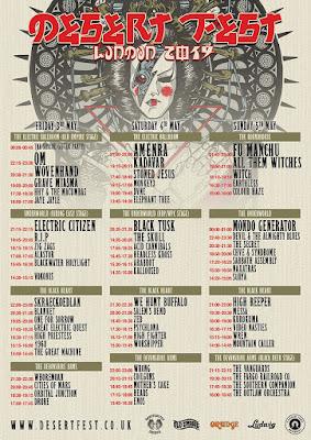 Desertfest London 2019 lineup