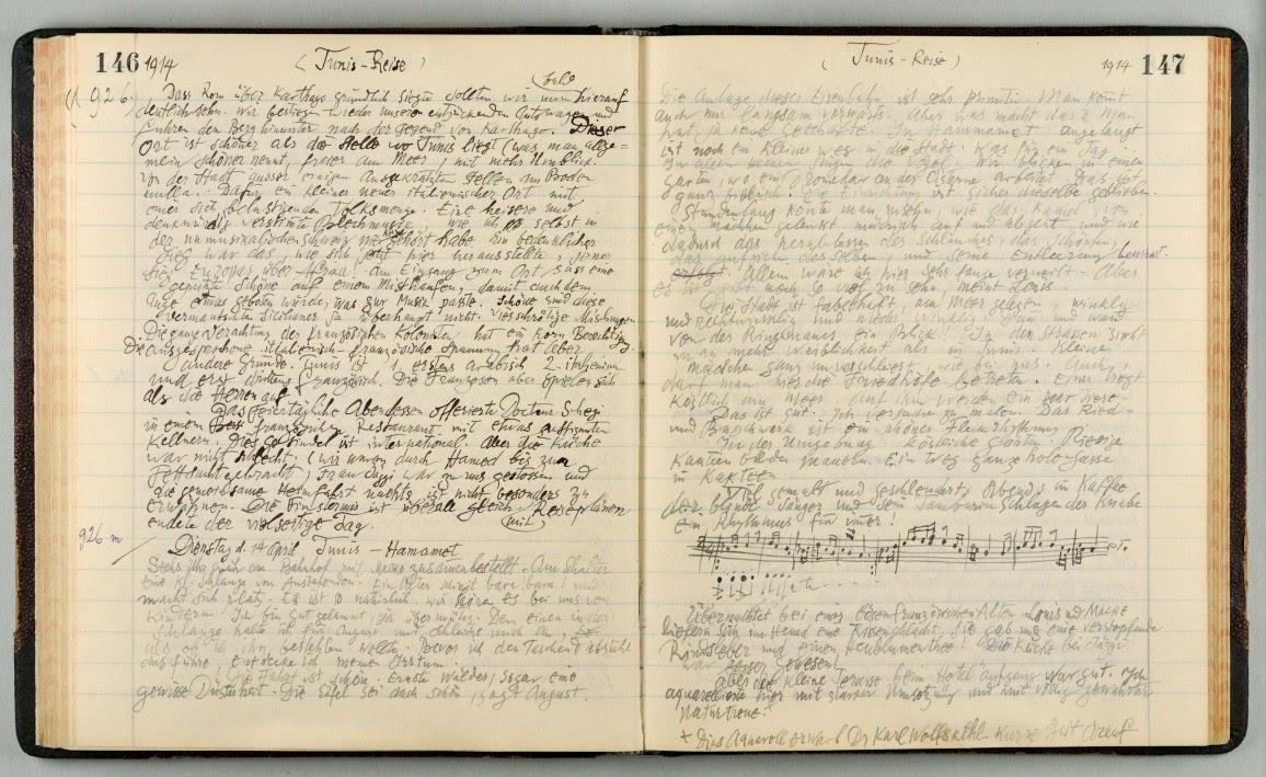 German Artists' Writings in the XX Century - Paul Klee, The 'Diaries