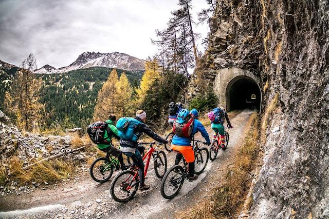 Biken am Brenner