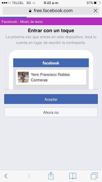 Facebook gratis android y IOS sin Datos