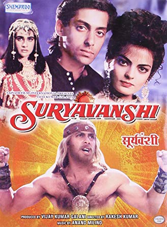 Suryavanshi (1992) Hindi 720p WEBRip 1.2GB ESubs