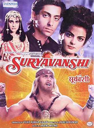 Suryavanshi (1992) Hindi 400MB WEBRip 480p ESubs