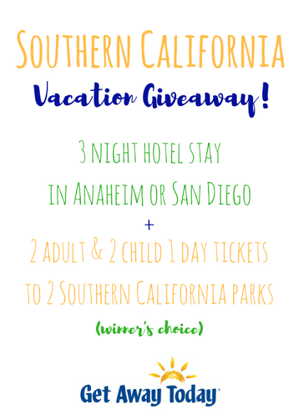 Southern California Vacation Giveaway from Get Away Today