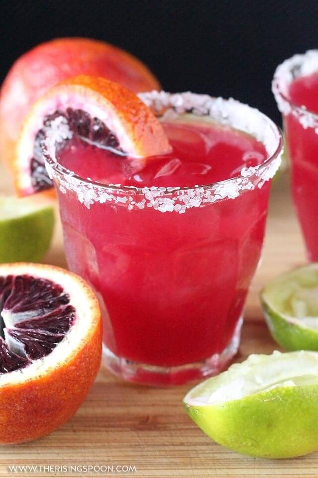 Easy Blood Orange Margaritas Recipe