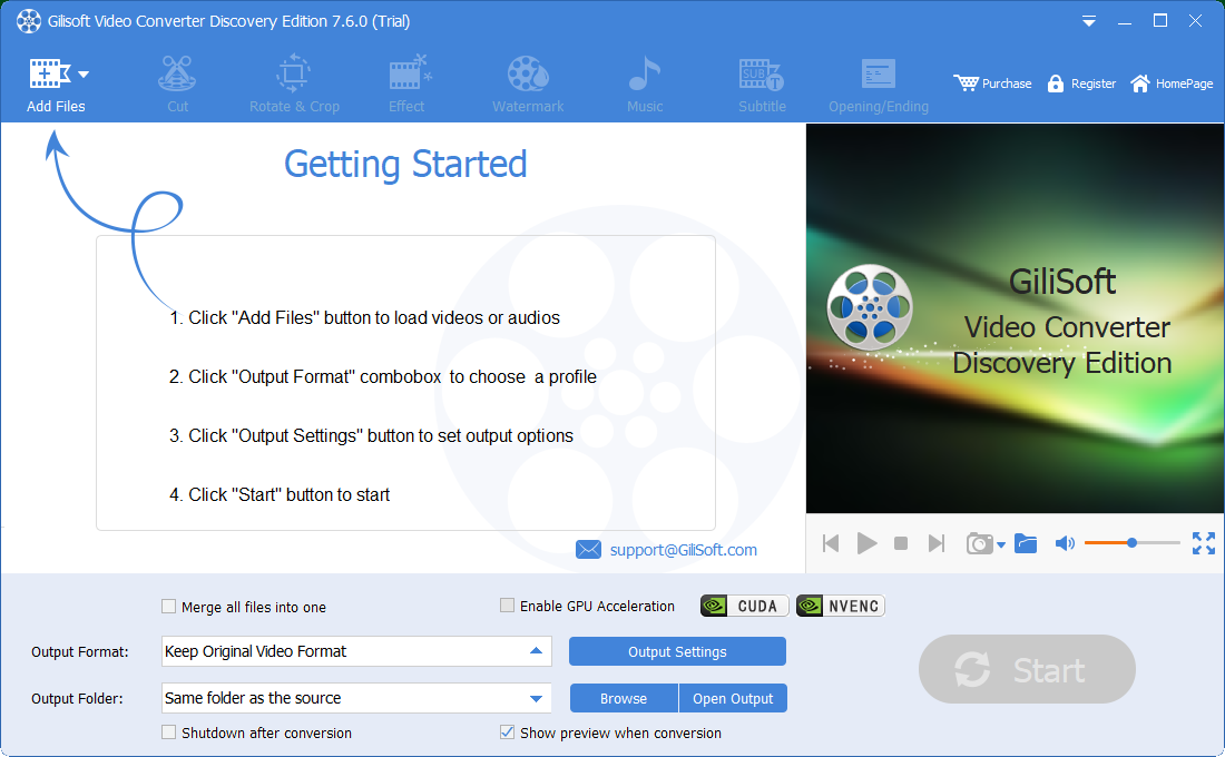 Review Gilisoft Video Converter - An Exploration Version of