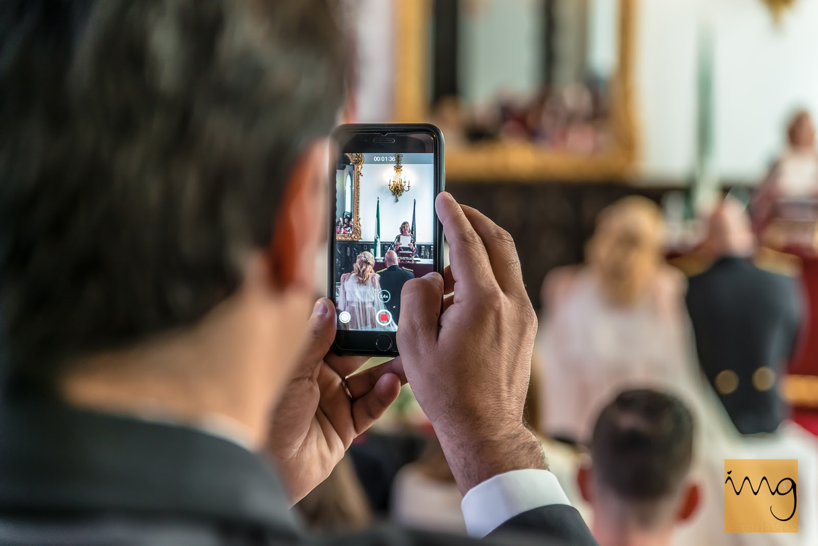 Fotografía de boda creativa