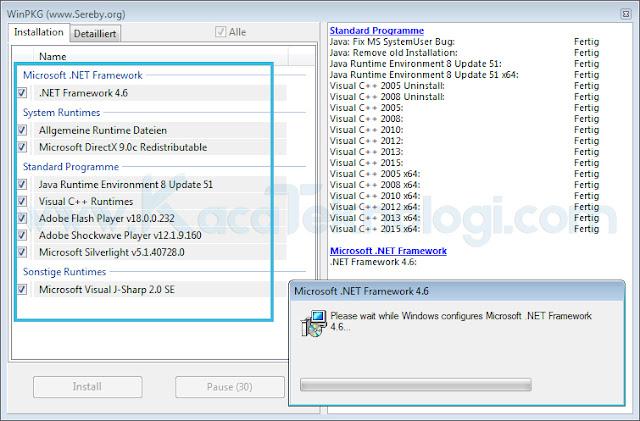 Perbarui File System Dengan AIO Driver Package