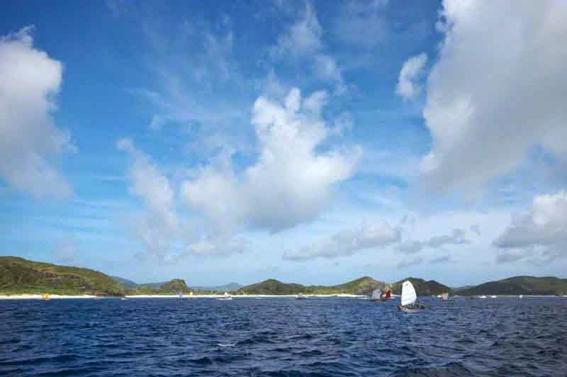 sabani sailboats, Kerama Islands