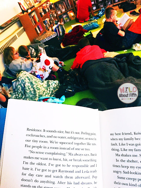 Facilitate a love of reading with a classroom read-in.