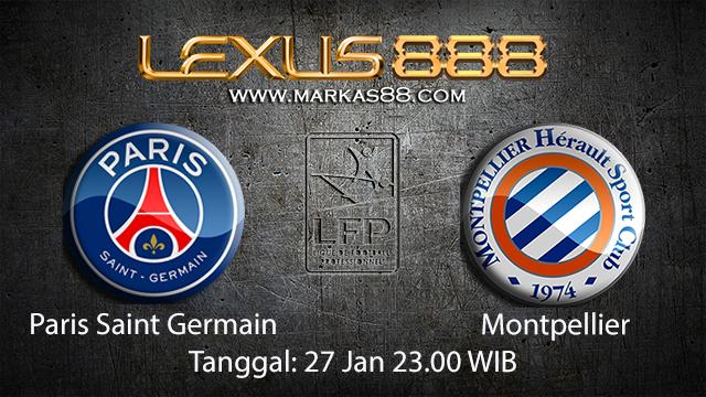 PREDIKSIBOLA - PREDIKSI TARUHAN BOLA PARIS SAINT GERMAIN VS MONTPELLIER 27 JANUARI 2018 ( FRENCH LIGUE 1 )