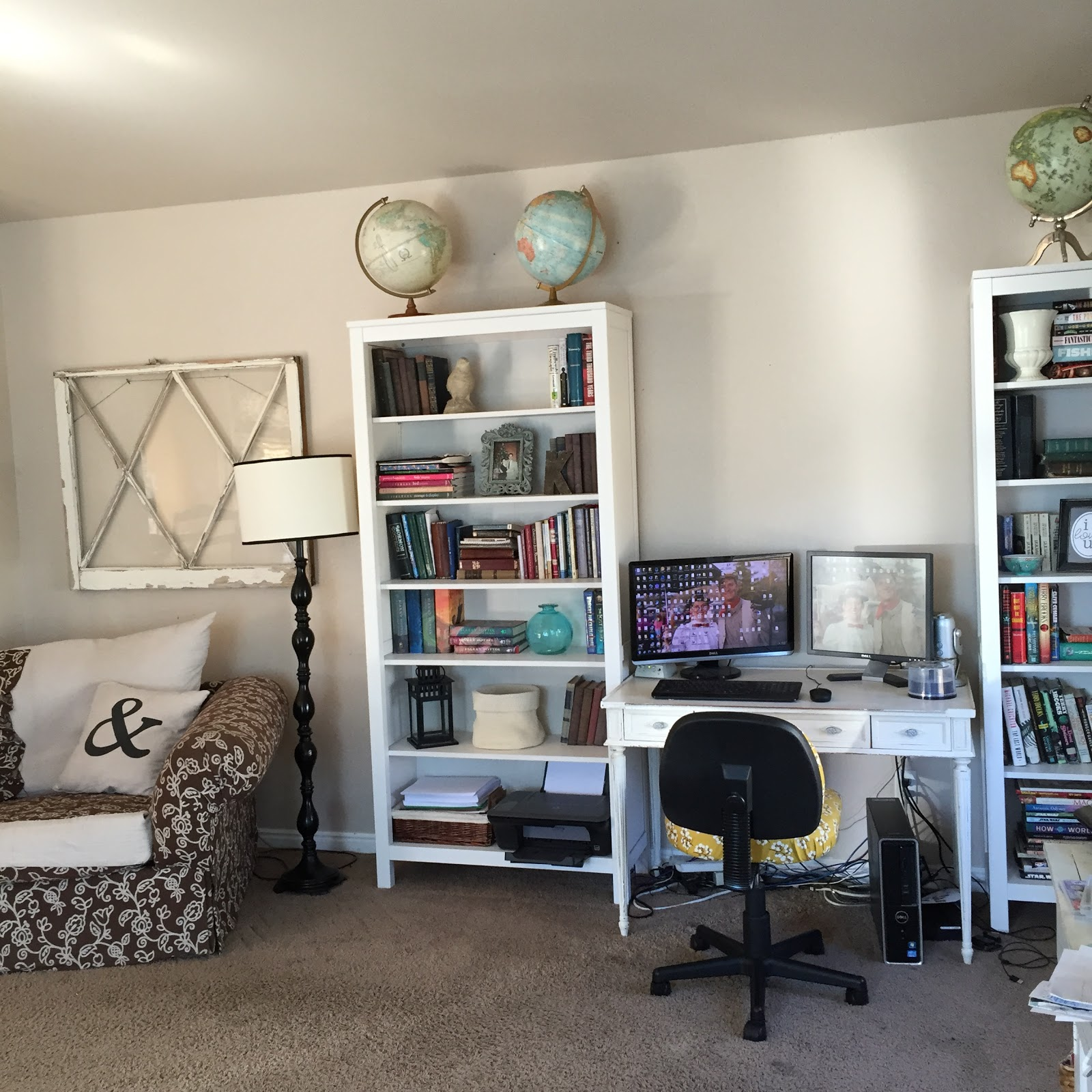 Family Room Makeover reveal