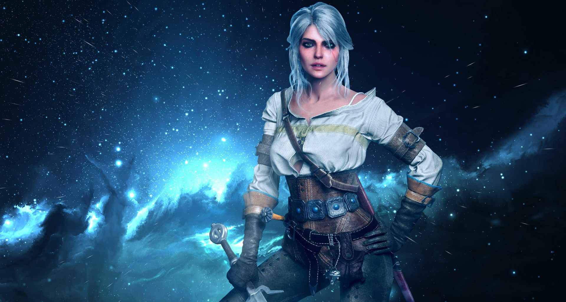 Ciri The Witcher 3 Animated Live Wallpaper