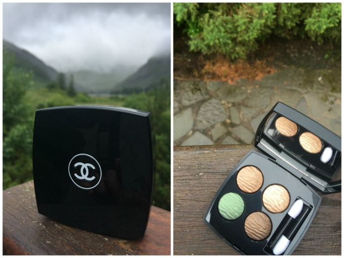 Chanel Empreinte du Desert Eyeshadow Quad Summer 2016 Beauty Collection