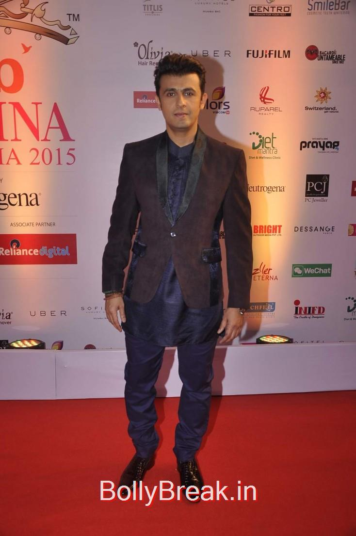 Sonu Nigam, Femina Miss India 2015 Red Carpet Photo Gallery