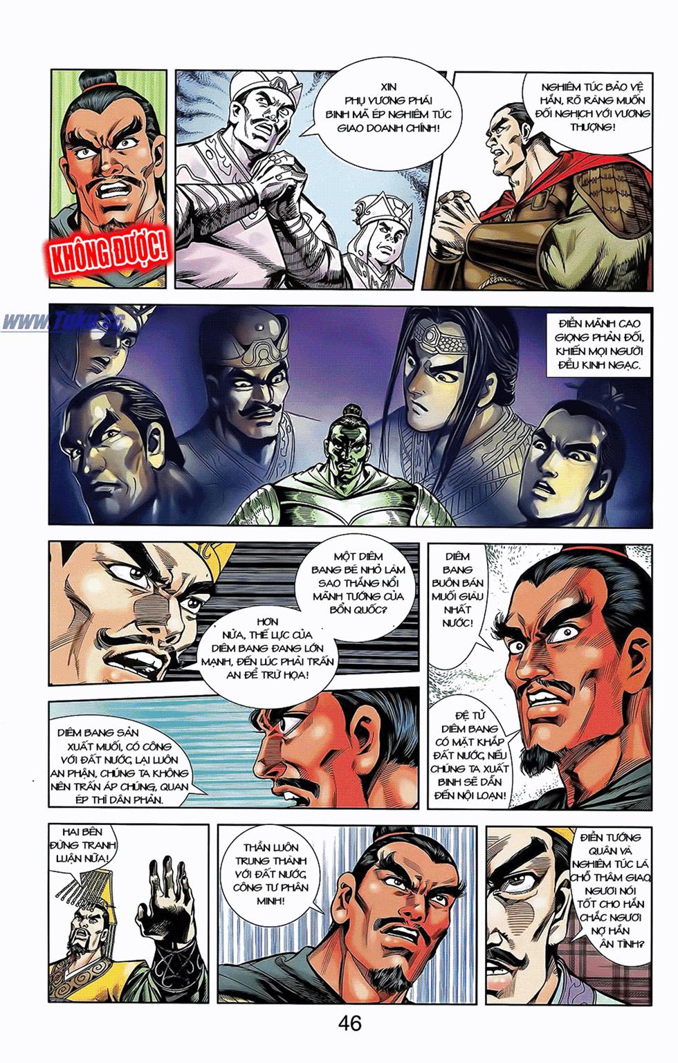 Tần Vương Doanh Chính chapter 7 trang 5