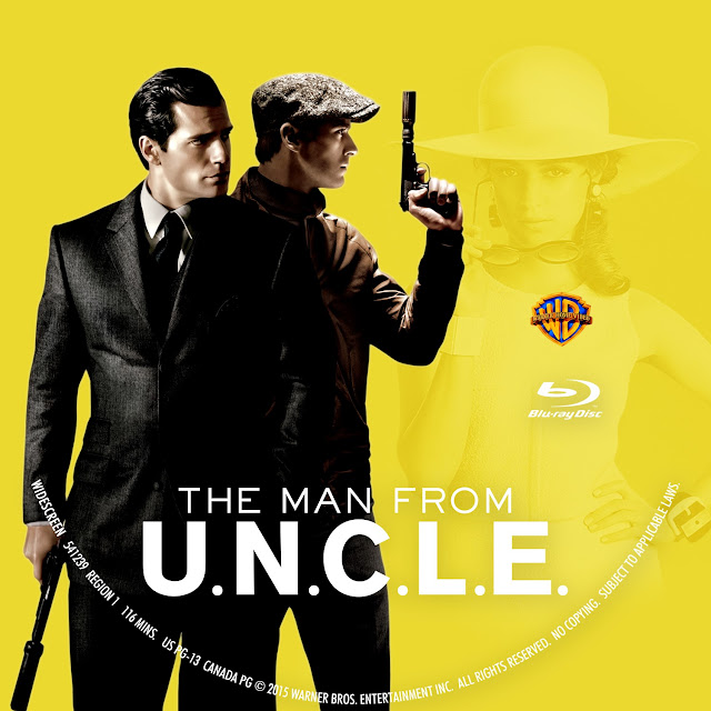 The Man From U.N.C.L.E Bluray Label
