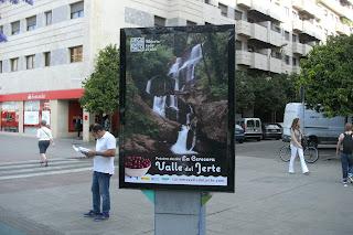 Promoción del Valle del Jerte en las calles de Sevilla