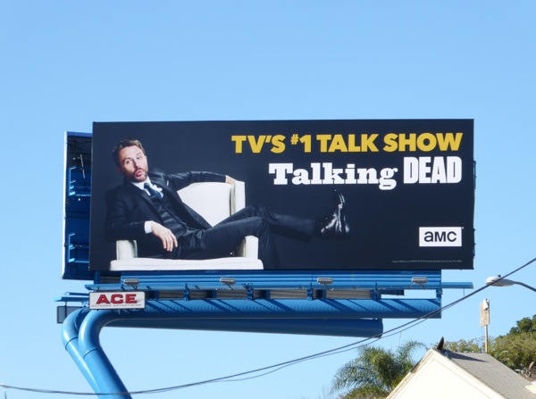 Talking Dead TV billboard Sunset Strip