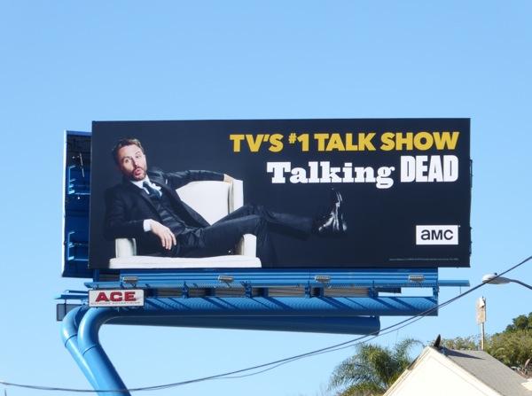 Talking Dead TV billboard Sunset Strip