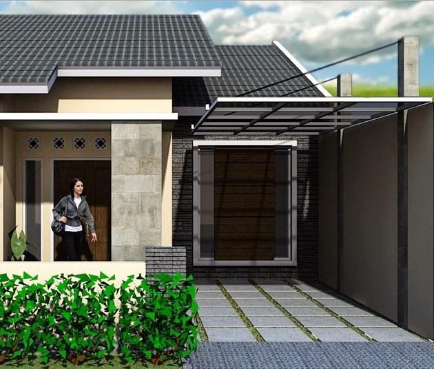 48 Desain Kanopi Modern pada Rumah Minimalis  Rumahku Unik