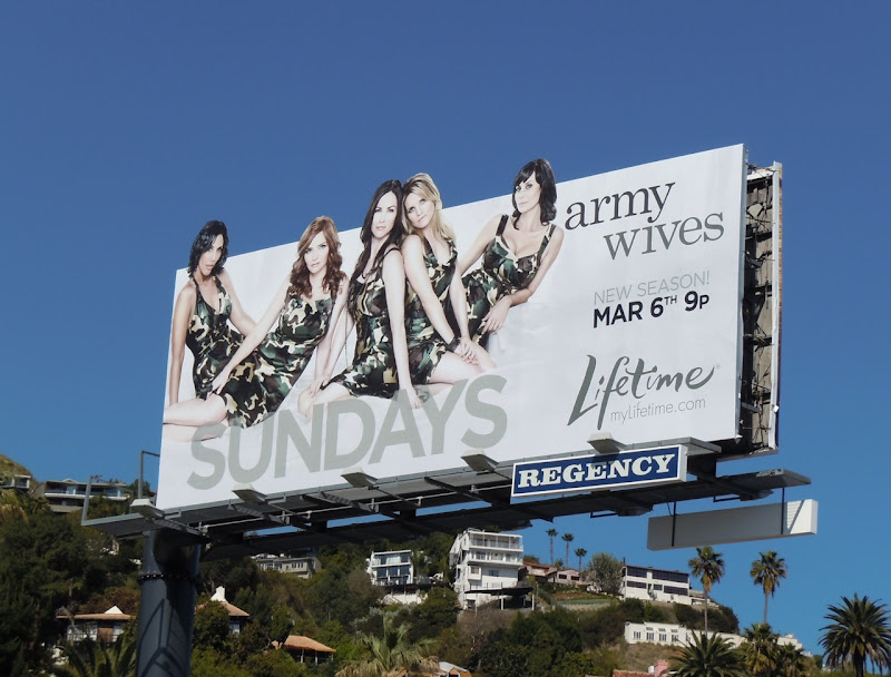 Army Wives series 5 billboard