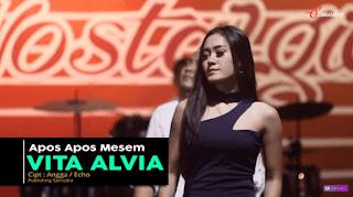 Lirik Lagu Apos Apos Mesem - Vita Alvia