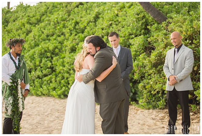 A Beautiful Maui Beach Wedding For Rebecca Amp Kevin
