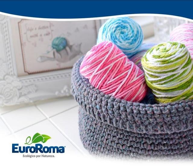 Cesto Organizador com Barbante EuroRoma
