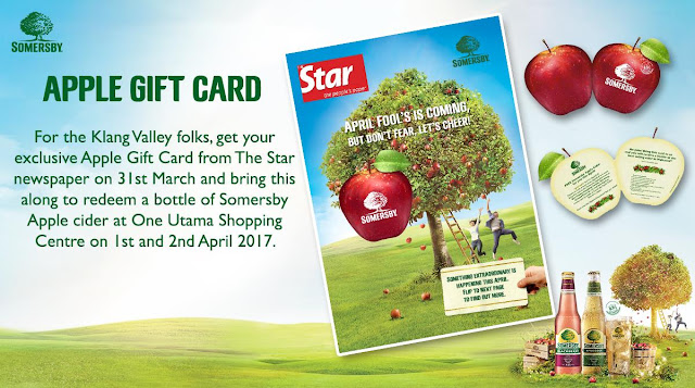 Somersby Apple Gift Card The Star