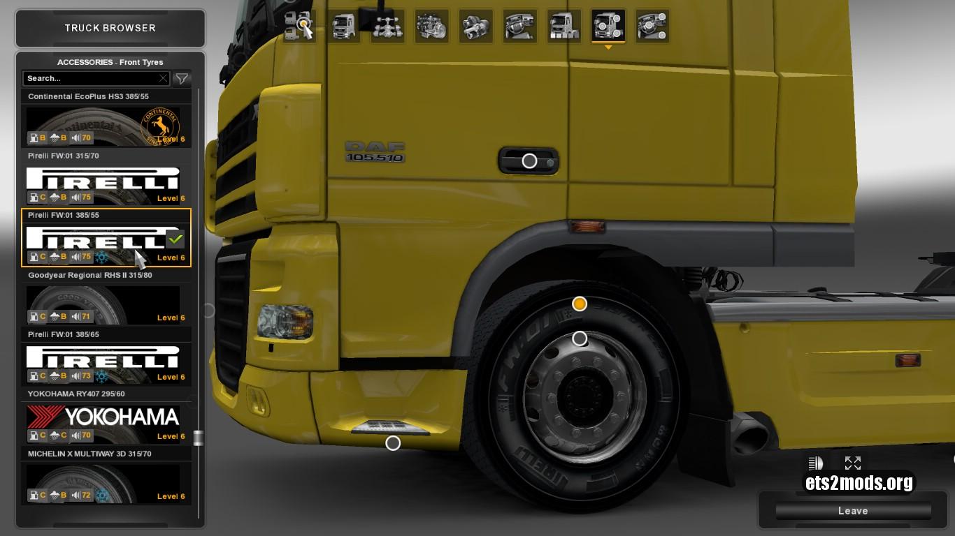 Mod – Real Tires V 5.7