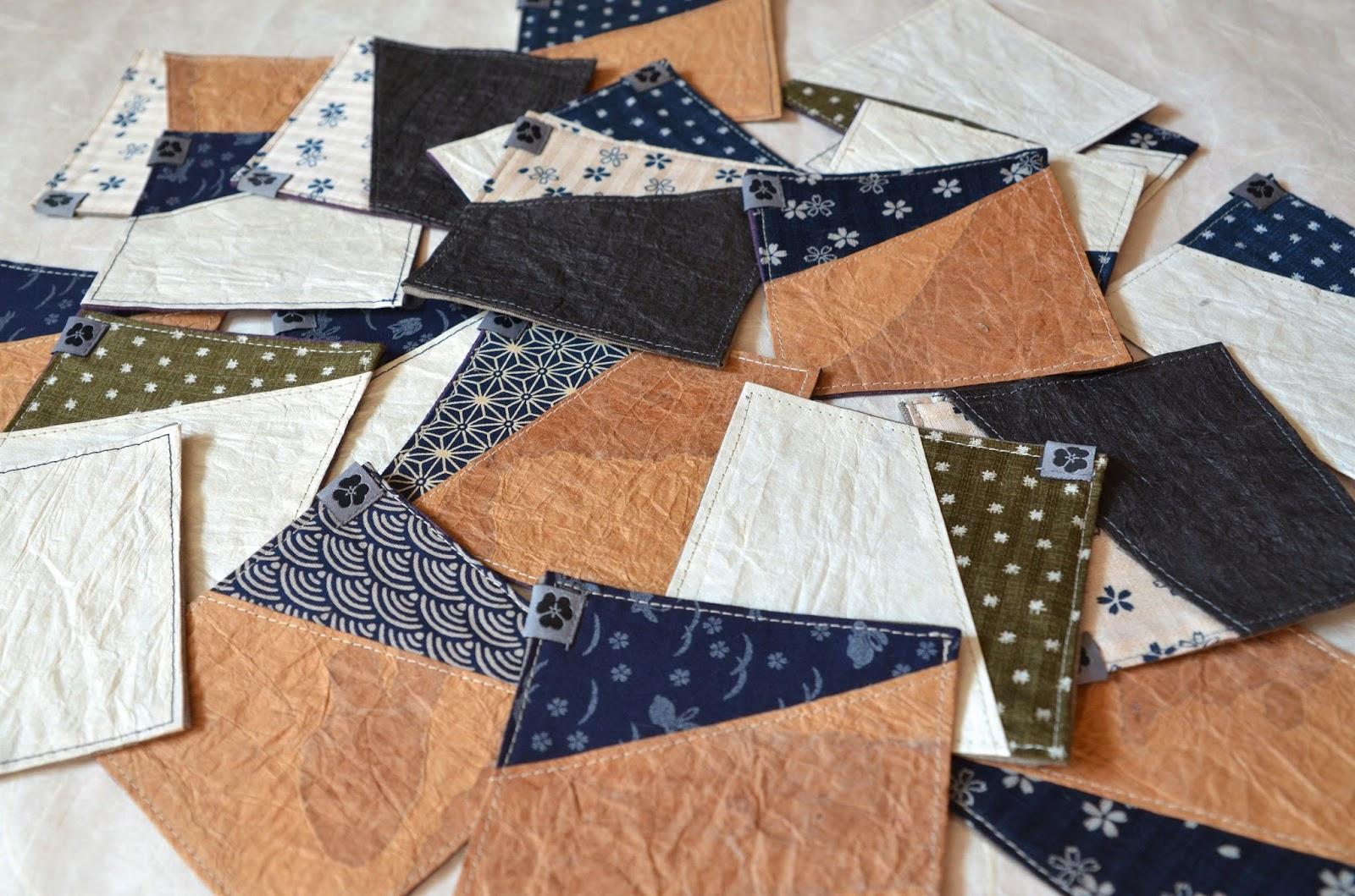 Untersetzer aus Washi Japanpapier von Noriko handmade, Japan, Design, Wohnaccessoires