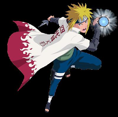 Minato Namikaze - anime Naruto
