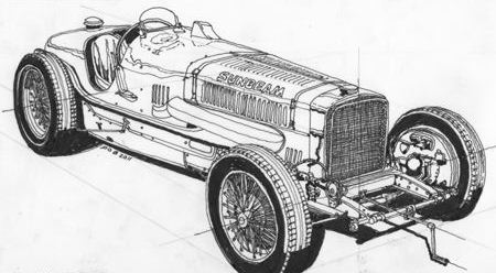 Old Bugatti Engine Old Mercury Engine Wiring Diagram ~ Odicis