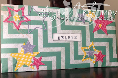stampin up paper smooches envelope punch board stars heidi swapp