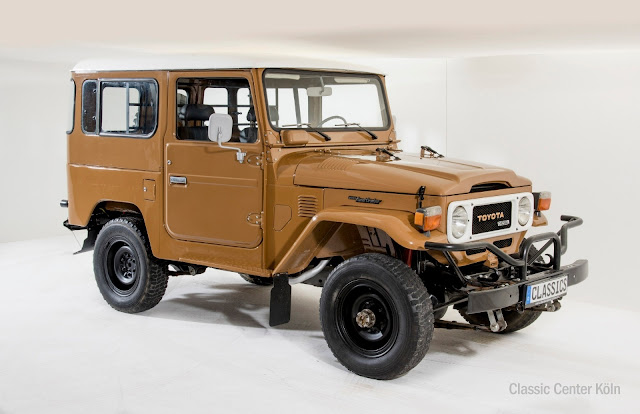 1984 Toyota Land Cruiser BJ40 for sale at Classic Central Koln for EUR 33,500 - #Toyota #LandCruiser #BJ40 #classiccar #forsale