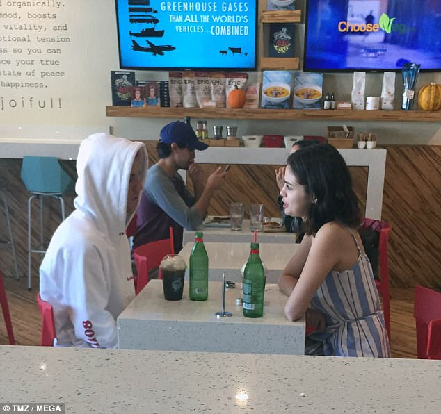 Selena Gomez spotted with Justin Bieber as news of split from The Weeknd breaks