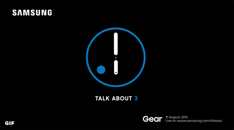 Samsung Gear S3 Teased, To Launch This August 31, 2016!