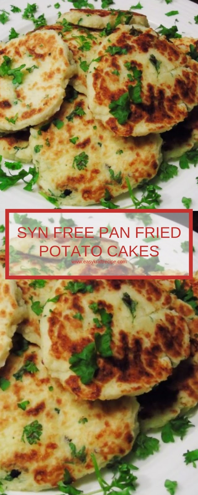 SYN FREE PAN FRIED POTATO CAKES