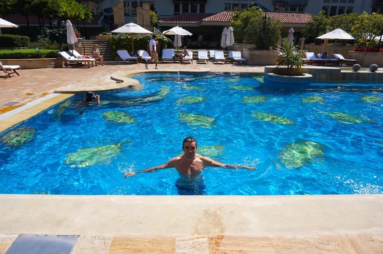 Euriental | Grand Hyatt pool, Istanbul, Turkey
