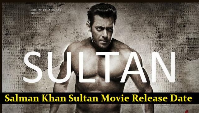 Salman Khan Sultan Movie Release Date Finalized 6 July Eid 2016