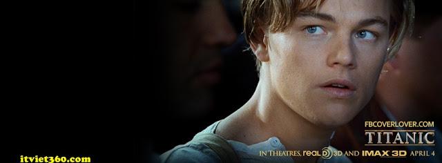 Ảnh bìa facebook 3D đẹp độc đáo - Cover FB timeline nice, phim titanic 3d