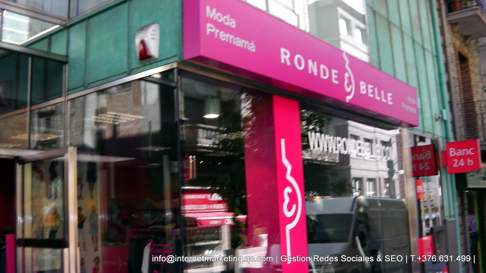 bc2508267 Ronde et Belle ANDORRA tienda de ropa para embarazadas nace en Escaldes  Engordany en el mes de Marzo del año 2010