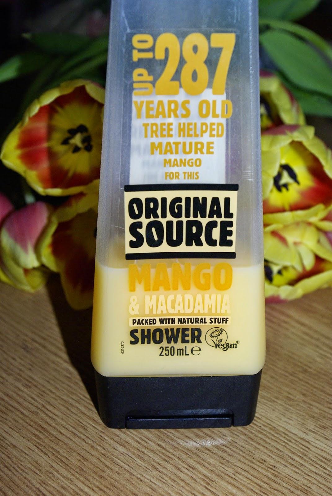 Original Source Mango&Macadamia - z nim przeniesiesz się w magiczne miejsce.