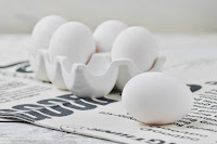 Aplicaciones con clara de huevo