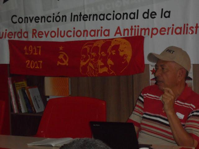 La Unidad Popular Revolucionaria Antiimperialista delinea el plan de acción para el periodo político social actual