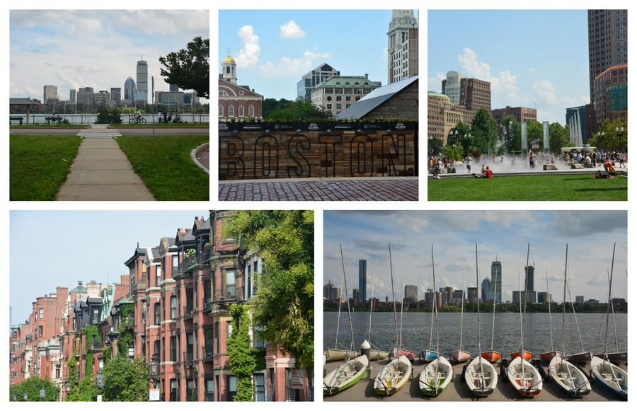 Boston de la Charles River à Beacon Hill