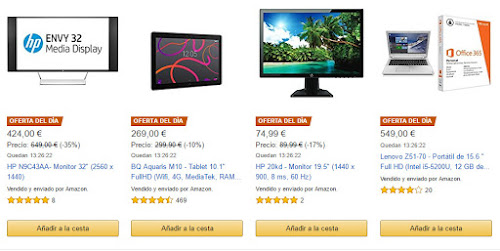 Productos ofertas diarias Amazon 7 febrero 2017