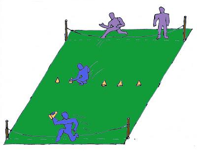 Salto alto atletismo juego perritos guardianes