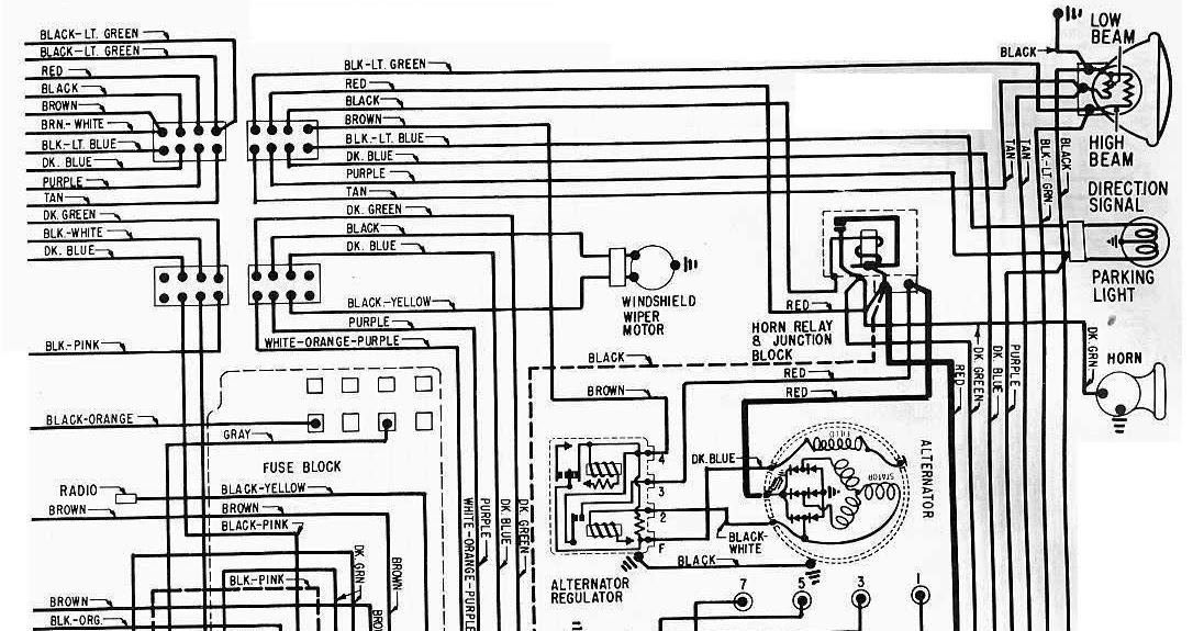 1965 Chevrolet Steering Column Wiring Diagram