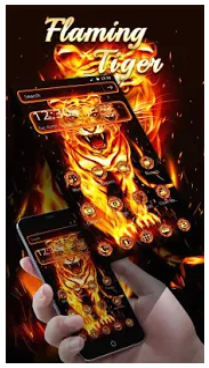 Flaming Tiger Theme